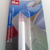 water erasable pen for ironing on pattern Prym 611 602